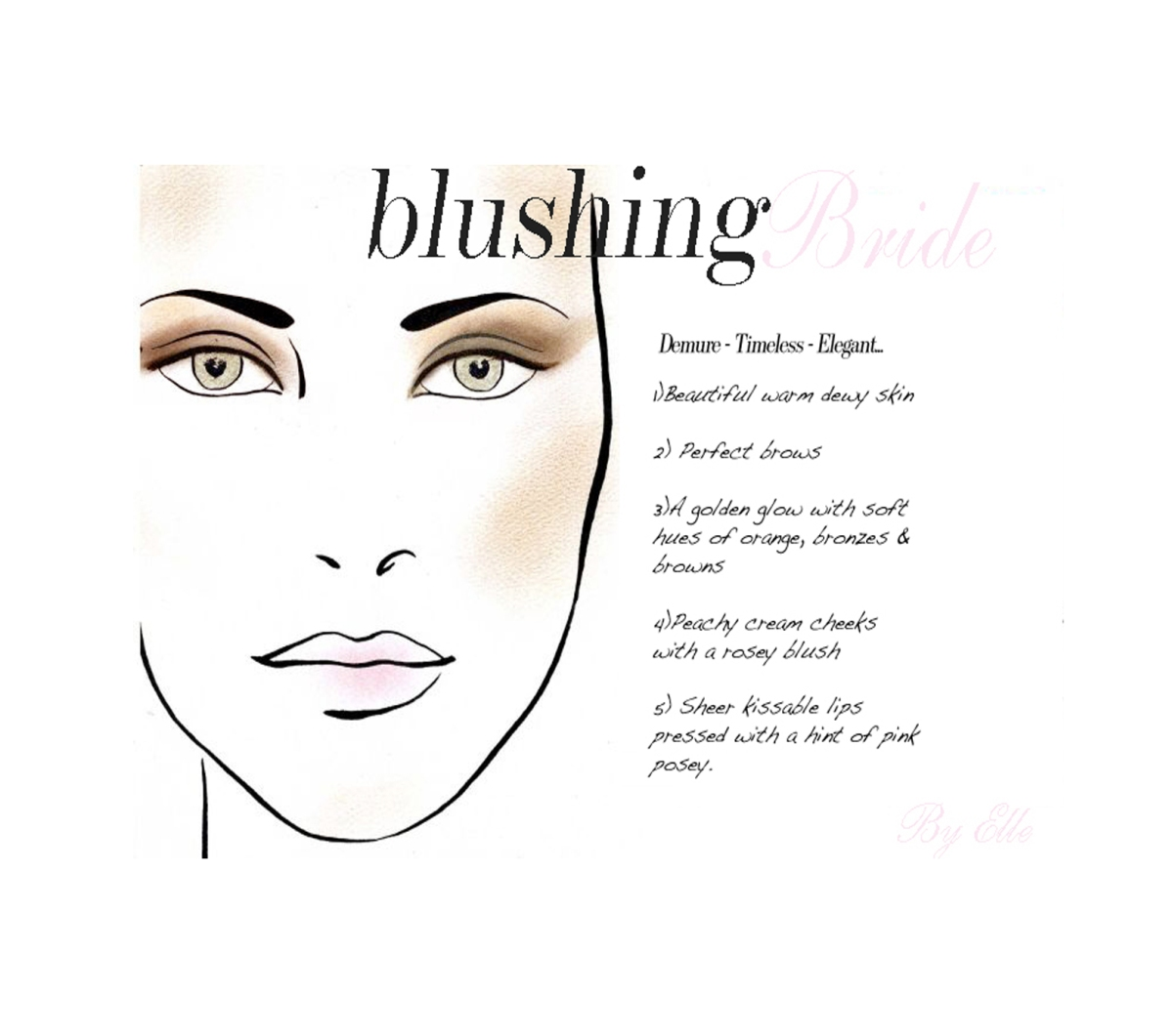 Blushing Bride...Make up