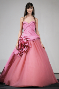 vera wang pink (source Getty)