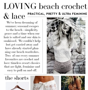 Loving Beach Lace