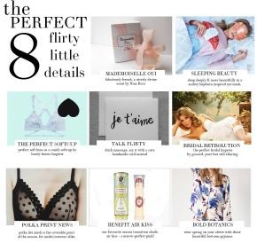 8 Flirty LittleDetails